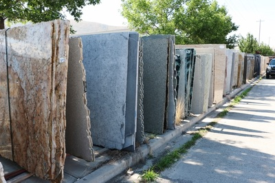 tile bathroom countertop granite amp tile auction statewide auction company 14663
